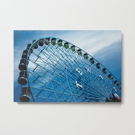 Texas Star, Texas State Fair Ferris Wheel Metal Print