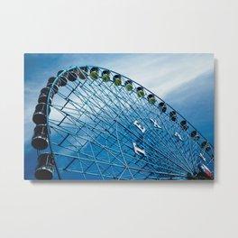Texas Star, Texas State Fair Ferris Wheel Metal Print
