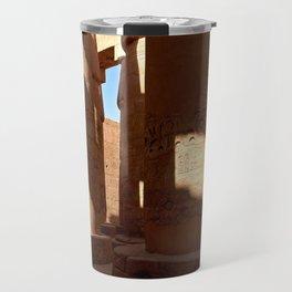 Columns in Karnak Temple (Egypt) Travel Mug