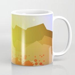 Icelandic volcano Coffee Mug