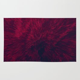 Bold Burst in Red Rug