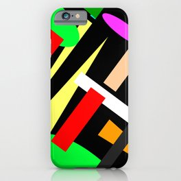 Abstract Artwork No.750 iPhone Case