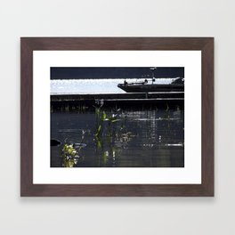 lakesprouts Framed Art Print