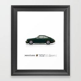 Porsche 1966 Irish Green 912 Kevin Lynch Framed Art Print