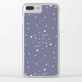 Planetarium Clear iPhone Case