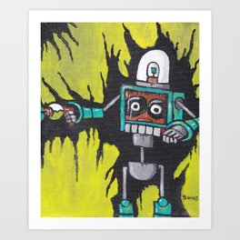 MC Phaser Art Print