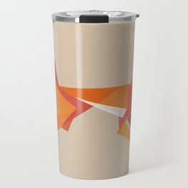 Fractal geometric fox Travel Mug