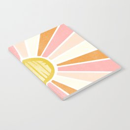 sundial shine Notebook