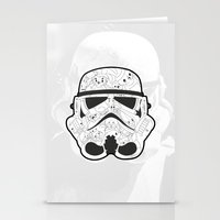 stormtrooper Stationery Cards featuring Stormtrooper by Santos