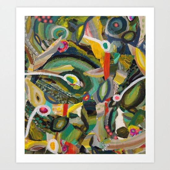 Jonglerie Art Print