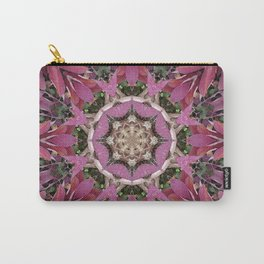 Autumn Leaves Kaleidoscope - White Ash Carry-All Pouch