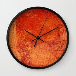 Sotto un Sole Intenso Wall Clock