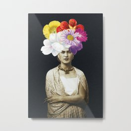 Beautiful Frida Metal Print