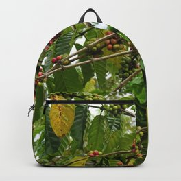 Coffee Plant Shrub Branches Coffee Berries Backpack