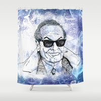 1975 Shower Curtains featuring Jack by Rabassa