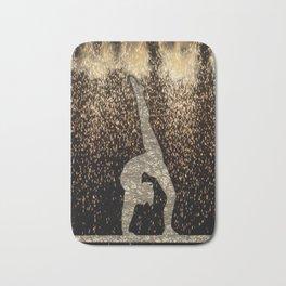 Sparkle Gymnast Bath Mat