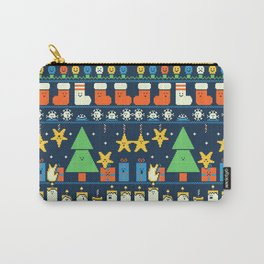 Merry Christmess Carry-All Pouch