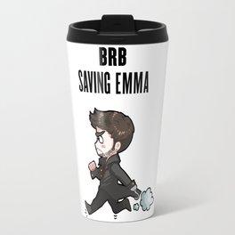 BRB Saving Emma Travel Mug