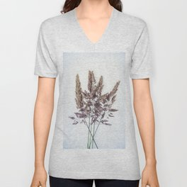 Velvet Grass Unisex V-Neck