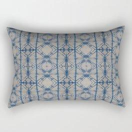 Shibori Mirror Rectangular Pillow