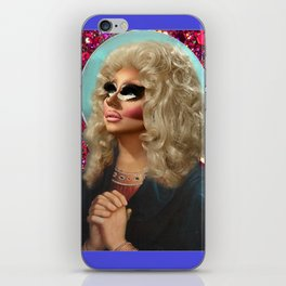 Drag Queen Saint Trixie for a Better Rupaul Future Yass iPhone Skin