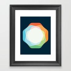 Cacho Shapes XXI Framed Art Print