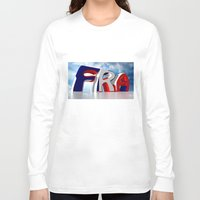 france Long Sleeve T-shirts featuring France by Carlo Toffolo