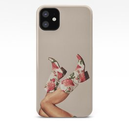 These Boots - Floral iPhone Case