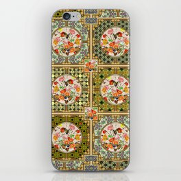 Persian Tile Butterfly Variation iPhone Skin