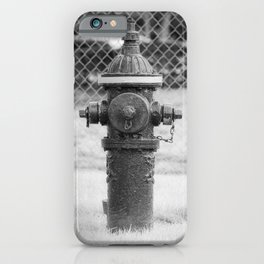 Eddy Valve Company Two Piece Barrel Fire Hydrant Waterford NY Fire Plug iPhone Case