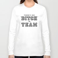 team fortress Long Sleeve T-shirts featuring TEAM by YEAH PRETTY MUCH