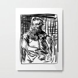 Van Dyck 3 Metal Print