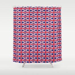 flag of uk 2- London,united kingdom,england,english,british,great britain,Glasgow,scotland,wales Shower Curtain