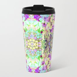 Watercolor Floral Travel Mug