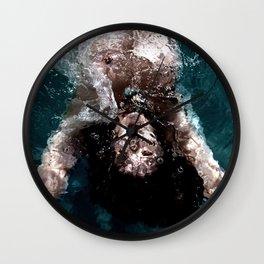 Sienna - Natural pool Wall Clock