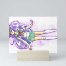 Rei Hino Schoolgirl Mini Art Print