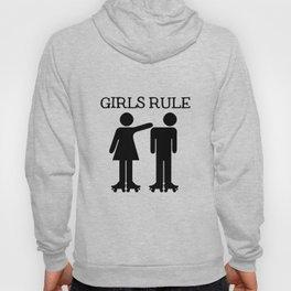 Girls Ruler Roller Derby Hoody