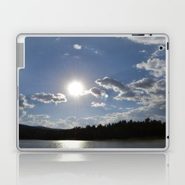 Sun Over Lake in White Mountains Arizona Laptop & iPad Skin