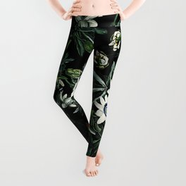 EXOTIC GARDEN - NIGHT XI Leggings