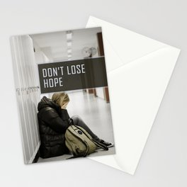 Don't Lose Hope Stationery Cards