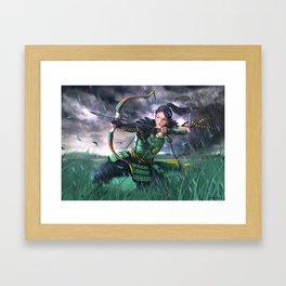 Tsuruchi Akira Framed Art Print