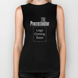The Procrastinator Biker Tank