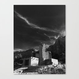 Monastery at Christ in the Desert Canvas Print