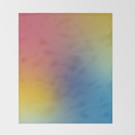Abstract Gradient No. 11 Throw Blanket