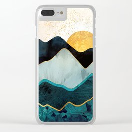 Glacial Hills Clear iPhone Case