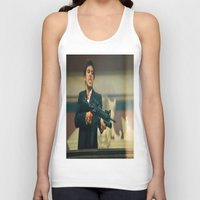 scarface Tank Tops featuring SCARFACE by I Love Decor