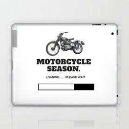 Motorcycle Season Loading Laptop & iPad Skin