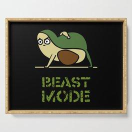 Beast Mode Avocado Serving Tray