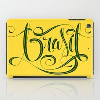 brasil iPad Cases featuring BRASIL by Roberlan Borges