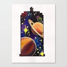 space tardis Canvas Print